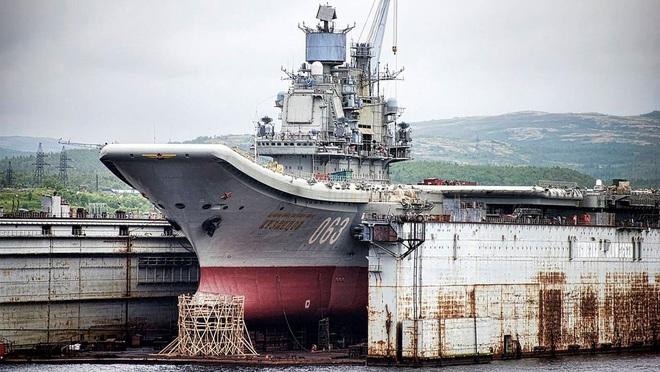 Phi công hải quân Nga buộc phải luyện tập trên... tàu sân bay hỏng? - ảnh 5