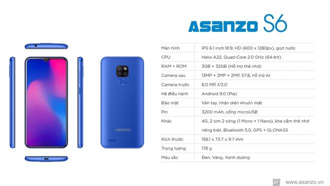 Asanzo rao bán chiếc smartphone với giá chấn động - Ảnh 1.