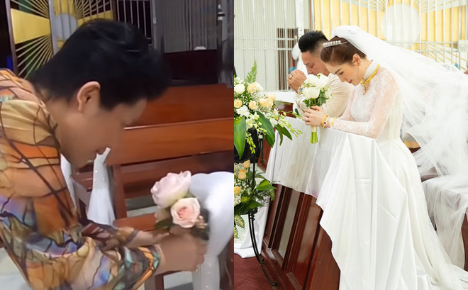 Mẹ ruột Bảo Thy tự tay làm những việc nhỏ nhất, chuẩn bị lễ cưới cho con gái