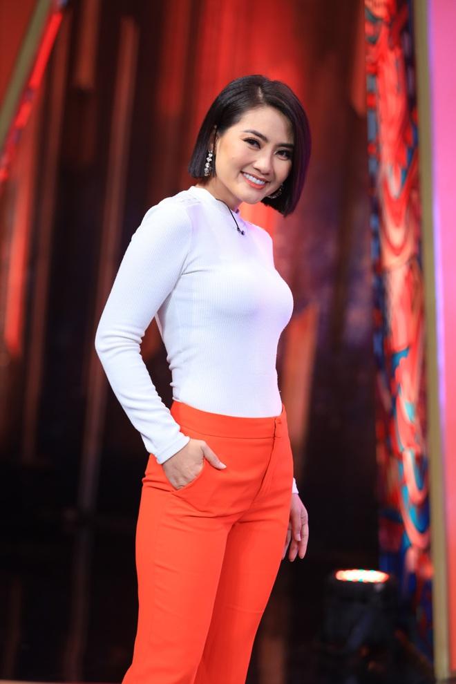 Ngọc Lan xuất hiện trên truyền hình sau khi thừa nhận ly hôn với Thanh Bình - Ảnh 1.
