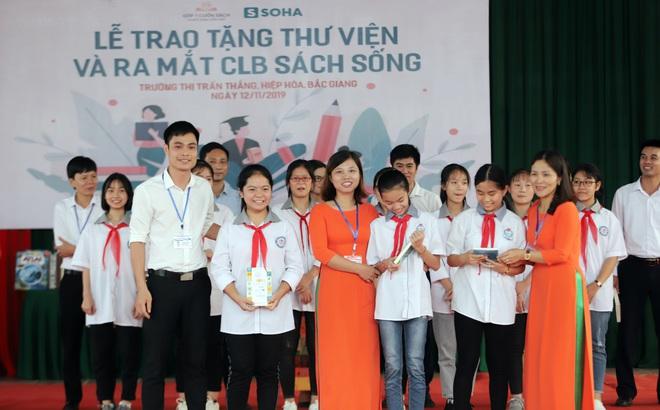 Mong ước tặng mỗi người dân Việt Nam 1 cuốn sách