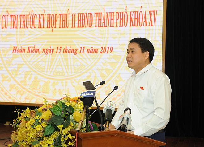 Chủ tịch Hà Nội Nguyễn Đức Chung: Thành phố chưa lấy một đồng nào bù giá cho nước sông Đuống - Ảnh 1.