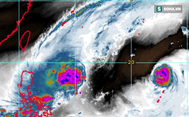 Song bão châu Á Phong Thần-Hải Âu: Mạnh lên không ngừng, đường đi bất thường; bão đang ở đâu?