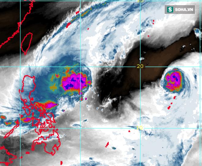 Song bão châu Á Phong Thần-Hải Âu: Mạnh lên không ngừng, đường đi bất thường; bão đang ở đâu? - Ảnh 1.
