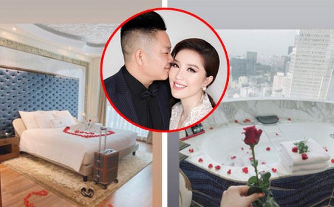 Bảo Thy tự tiết lộ căn phòng tân hôn trong khách sạn 6 sao đẳng cấp nhất TP.HCM