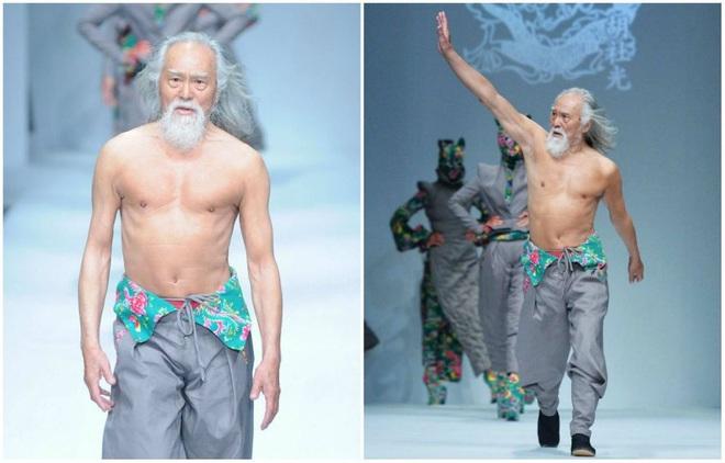 Tài tử đẹp lão nhất Trung Quốc: 83 tuổi vẫn tập gym, làm người mẫu, đóng cảnh hành động - Ảnh 6.