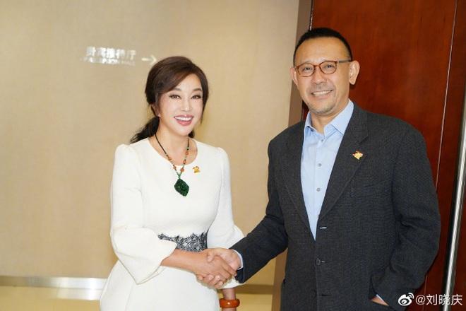 Thái độ bất ngờ của Lưu Hiểu Khánh khi gặp lại tình cũ sau 25 năm - ảnh 1
