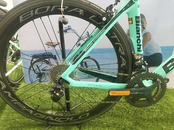 Siêu xe đạp giá hơn 400 triệu gây sốt ở Hà Nội có gì đặc biệt? - Ảnh 3.