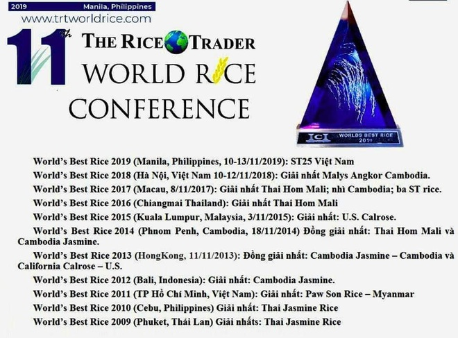 Hành trình 20 năm đưa gạo Việt vượt Thái Lan thành gạo ngon nhất thế giới - Ảnh 3.