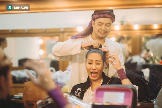 Say vai, suýt siết cổ bạn diễn ngạt thở và một đêm căng thẳng của diễn viên Minh Cúc  - Ảnh 6.