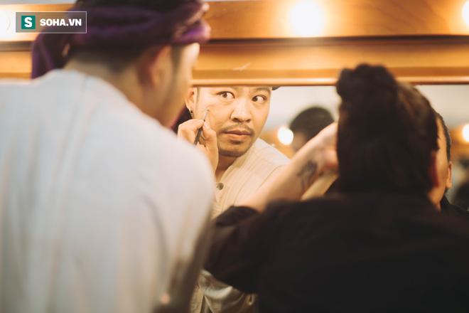Say vai, suýt siết cổ bạn diễn ngạt thở và một đêm căng thẳng của diễn viên Minh Cúc  - Ảnh 2.