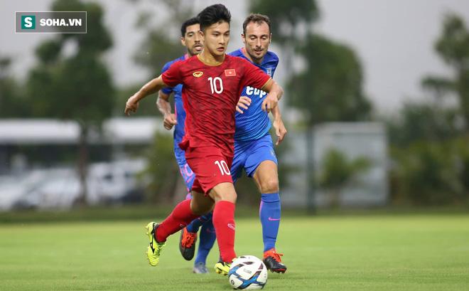 HLV Park Hang-seo rút gọn danh sách U22 Việt Nam: Martin Lo bị gạch tên