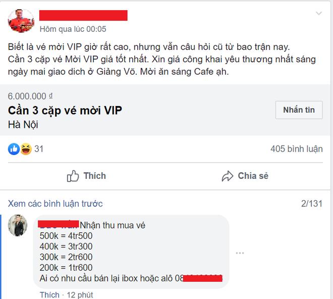 Sát giờ G, dân chợ đen thu mua vé trận Việt Nam và Thái Lan bất chấp giá - Ảnh 1.