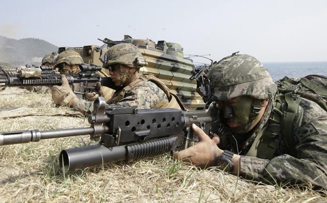 Mỹ-Hàn đột ngột ngừng đàm phán tăng 500% phí đồn trú quân Mỹ chỉ sau 1 tiếng họp