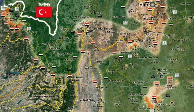 Đại chiến 4 cánh quân ở Syria: Hổ và Sư tử mở toang cánh cửa Idlib bằng cách nào? - Ảnh 2.