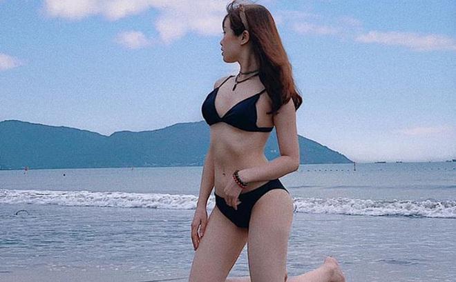 """Bạn gái cầu thủ Văn Toàn ngày càng gợi cảm, liên tục tung ảnh bikini khoe 3 vòng """"bỏng mắt"""""""