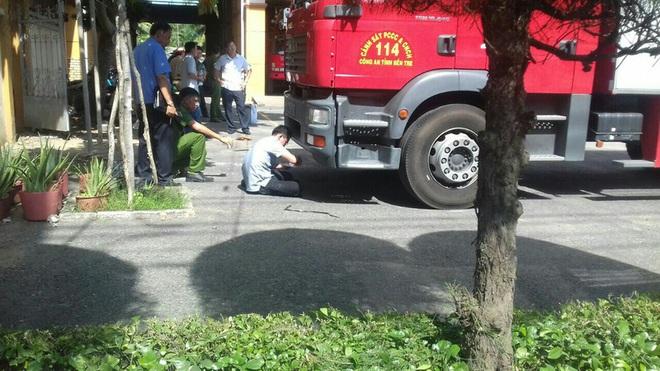 Đi thăm cô ngày 20-11, nữ sinh bị xe cứu hỏa tông tử vong - Ảnh 1.