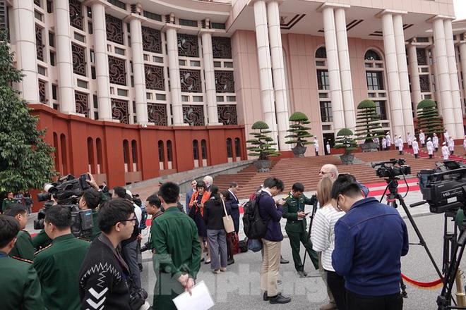 Bộ trưởng Quốc phòng Việt - Mỹ hội kiến tại Hà Nội - Ảnh 4.