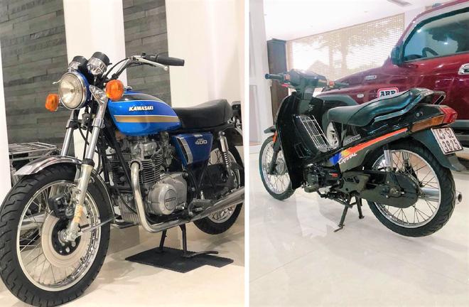 Bảo tàng xe cổ cực hiếm, đáng giá cả gia tài của đại gia Lâm Đồng khiến dân xe dậy sóng - Ảnh 11.