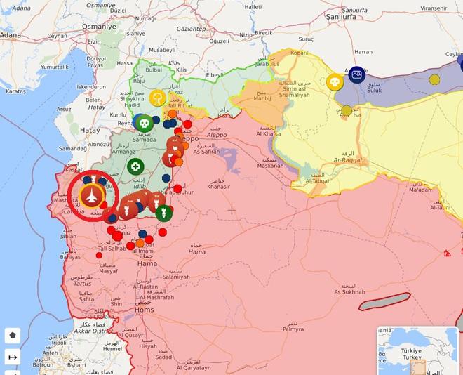 Bị Israel đánh trực diện, phòng không Syria tổn thất lớn - Nga chính thức ra tay khóa chết miền Bắc Syria - Ảnh 11.