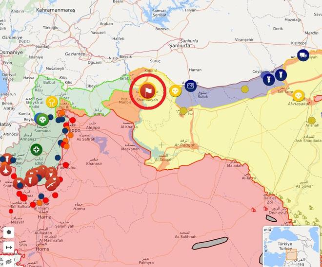 Bị Israel đánh trực diện, phòng không Syria tổn thất lớn - Nga chính thức ra tay khóa chết miền Bắc Syria - Ảnh 8.