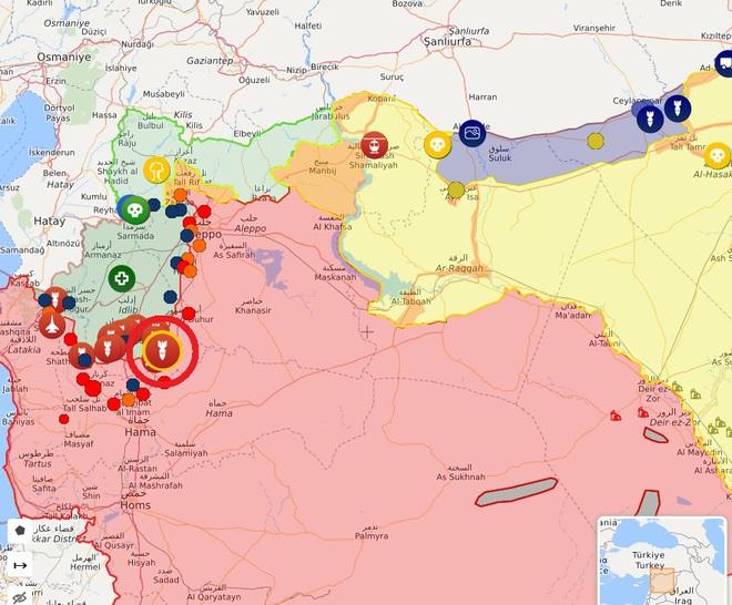 Bị Israel đánh trực diện, phòng không Syria tổn thất lớn - Nga chính thức ra tay khóa chết miền Bắc Syria - Ảnh 7.