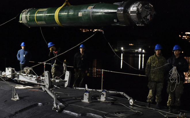 """Tàu ngầm tấn công Mỹ chất đầy ngư lôi giăng lưới """"bủa vây"""" tàu ngầm Nga"""