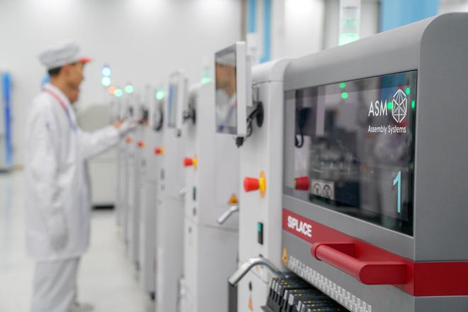 Cận cảnh nhà máy mang tham vọng sản xuất điện thoại cho người Mỹ của VinSmart - Ảnh 4.