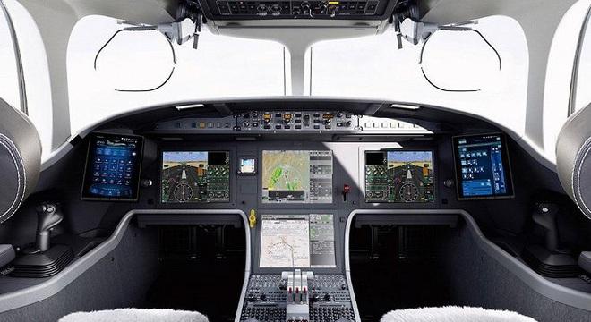 Soi hai mẫu máy bay riêng giá hàng chục triệu USD đại gia Việt vừa tậu  - Ảnh 4.