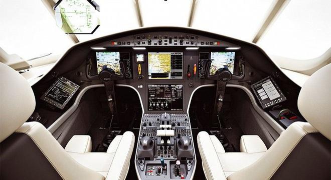 Soi hai mẫu máy bay riêng giá hàng chục triệu USD đại gia Việt vừa tậu  - Ảnh 10.