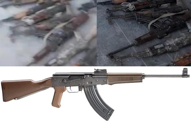 Khám phá biến thể AK độc nhất vô nhị ở Syria: Kho báu mà khủng bố cũng không biết? - Ảnh 1.