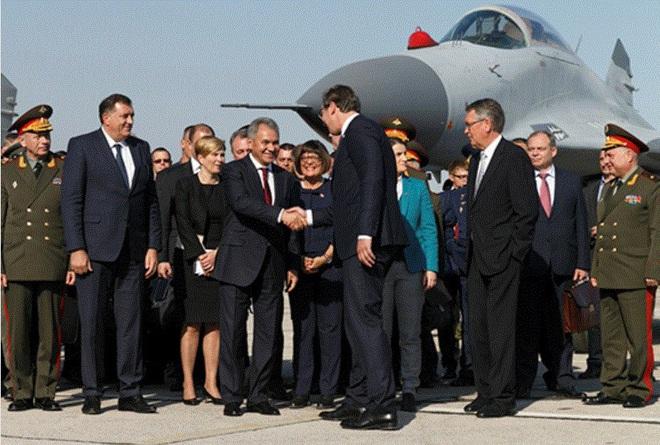 [ẢNH] Bê bối gián điệp khiến Serbia cảnh báo ngừng hợp tác quân sự với Nga - Ảnh 2.