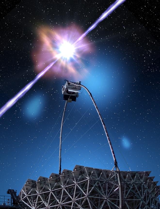 Bắt được quái vật vũ trụ phóng năng lượng hủy diệt, gấp 10 tỷ năm hoạt động của Mặt Trời  - Ảnh 2.