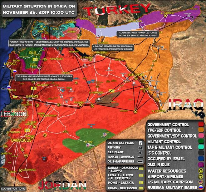 CẬP NHẬT: Hàng chục tổ hợp Pantsir-S giăng bẫy, khóa chặt bầu trời Syria - Houthi ồ ạt tấn công, tổ hợp Patriot thần thánh tan xác? - Ảnh 8.