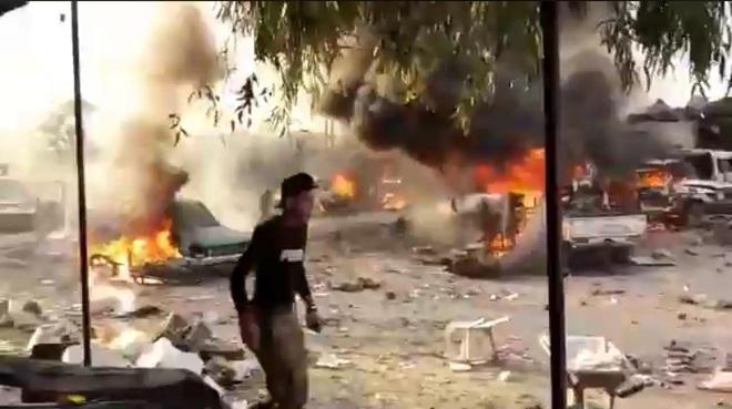 CẬP NHẬT: Hàng chục tổ hợp Pantsir-S giăng bẫy, khóa chặt bầu trời Syria - Houthi ồ ạt tấn công, tổ hợp Patriot thần thánh tan xác? - Ảnh 3.