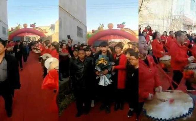 Trở về sau khi bị bắt cóc 19 năm, chàng trai được dân làng trải thảm đỏ chào đón