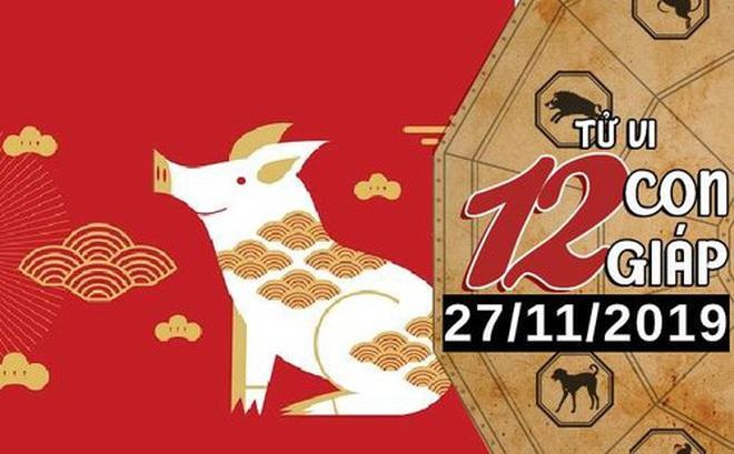 Tử vi thứ 4 ngày 27/11/2019 của 12 con giáp: Hợi bận rộn với công việc, Mão nên chân thành trong tình yêu