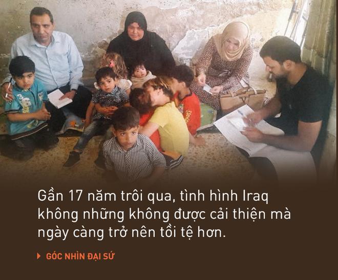 Biểu tình đẫm máu chưa từng có ở Iraq: Vì sao sau 17 năm, nhiều người vẫn nhớ tiếc thời Saddam Hussein? - Ảnh 1.