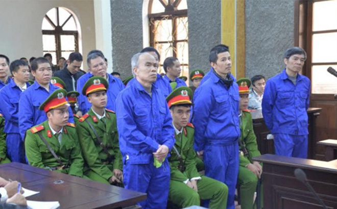 Giảm án cho 4 bị cáo trong vụ bồi thường thừa tiền tỷ ở Thuỷ điện Sơn La