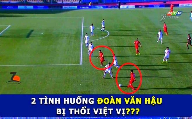 CĐV Việt Nam bức xúc vì trọng tài 'cướp' bàn thắng của Đoàn Văn Hậu
