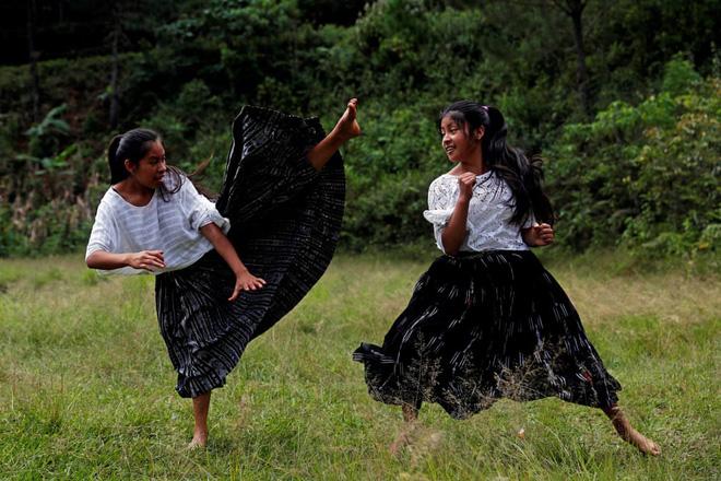 24h qua ảnh: Các bé gái luyện tập taekwondo để chống xâm hại tình dục - Ảnh 3.
