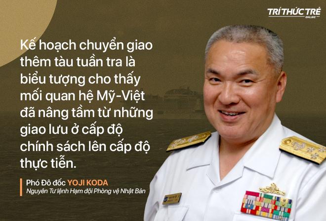 Nguyên Tư lệnh Hạm đội Phòng vệ Nhật Bản: Tàu tuần tra Mỹ sẽ giúp năng lực hàng hải của Việt Nam khởi sắc - Ảnh 1.