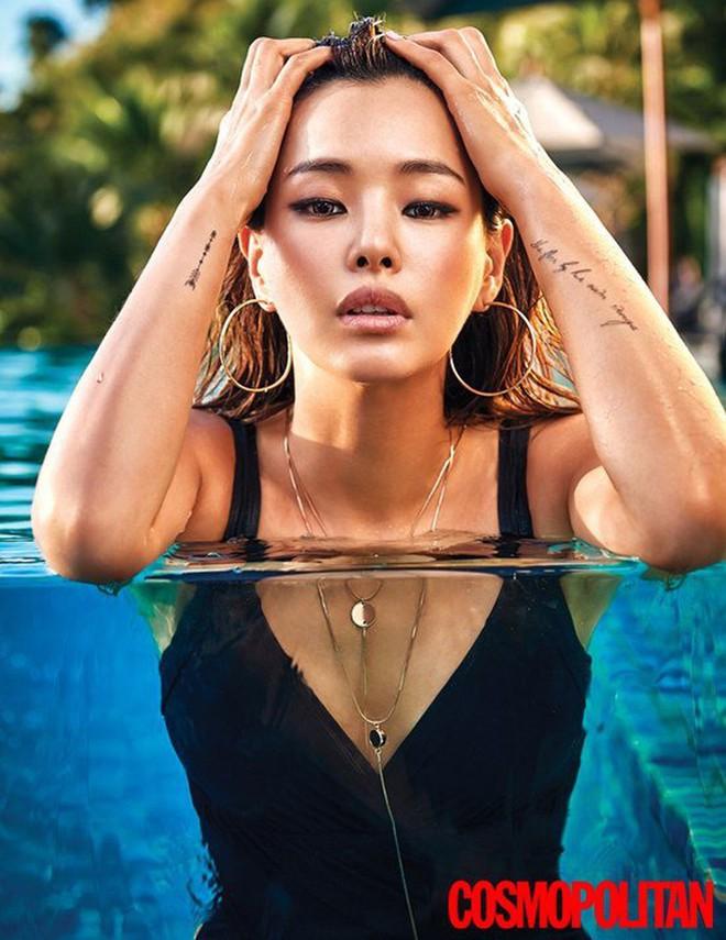 Vẻ đẹp nóng bỏng của Hoa hậu đẹp nhất Hàn Quốc là tiến sĩ âm nhạc, có xuất thân danh giá - Ảnh 2.