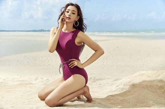 Vẻ đẹp nóng bỏng của Hoa hậu đẹp nhất Hàn Quốc là tiến sĩ âm nhạc, có xuất thân danh giá - Ảnh 6.