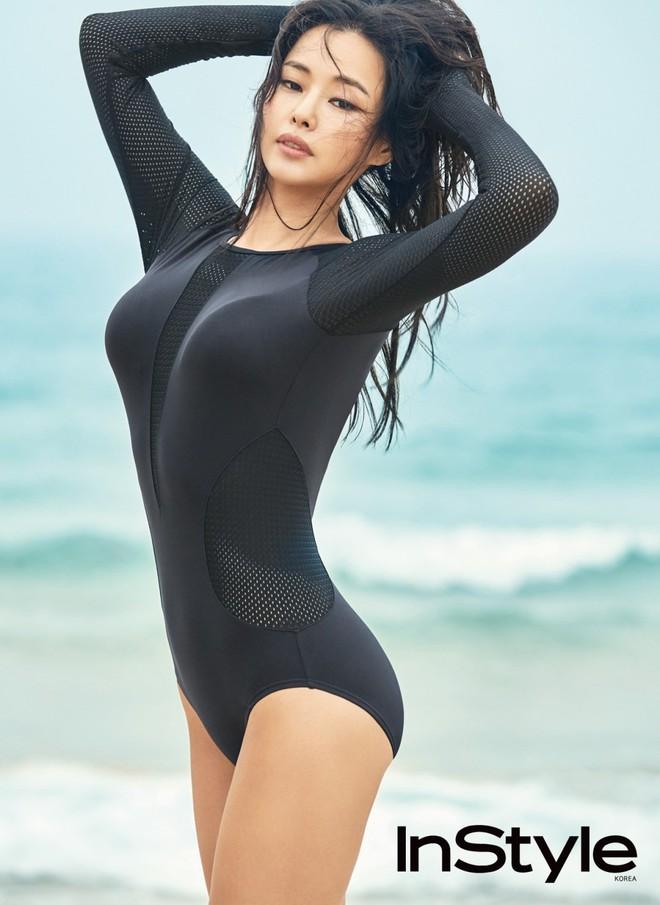 Vẻ đẹp nóng bỏng của Hoa hậu đẹp nhất Hàn Quốc là tiến sĩ âm nhạc, có xuất thân danh giá - Ảnh 7.