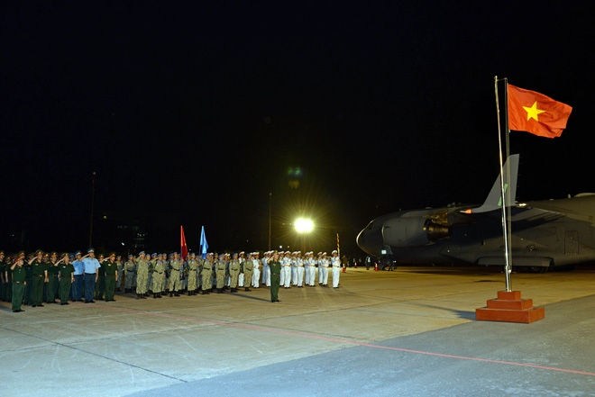 Bệnh viện Dã chiến cấp 2 số 1 của Việt Nam hoàn thành nhiệm vụ về nước an toàn - Ảnh 6.
