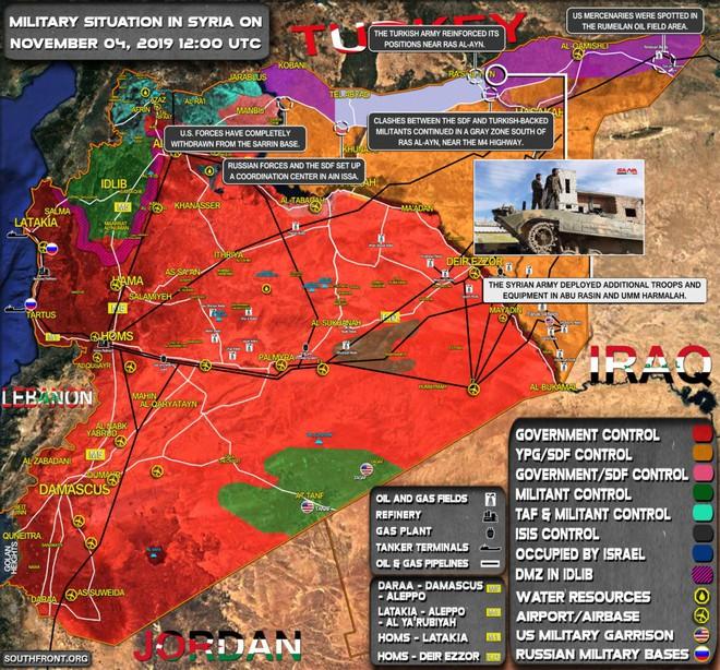 Xe quân sự Mỹ bị tấn công tới tấp, S-300, S-400 Nga tê liệt trên toàn lãnh thổ Syria - Ảnh 1.