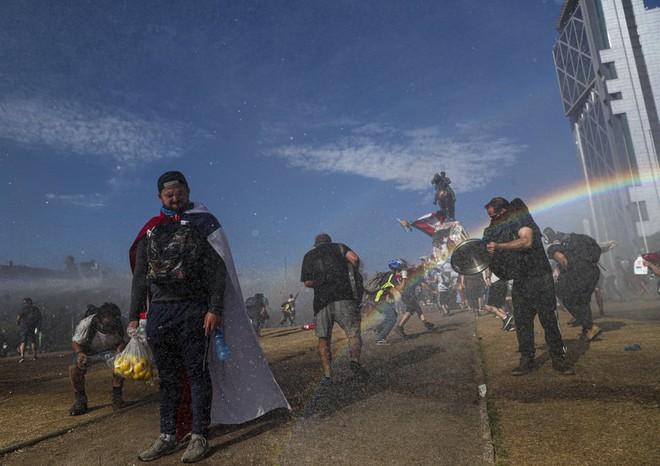 24h qua ảnh: Rùng mình với lễ hội Người chết ở Mexico - Ảnh 6.