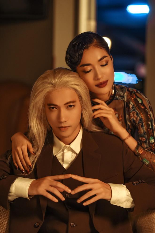 S.T Sơn Thạch chi 25 triệu mua tóc giả để hóa trang trong MV mới - Ảnh 6.