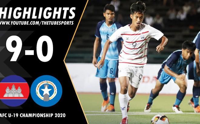 Thắng 9-0 tại vòng loại châu Á, Campuchia gửi chiến thư đến Thái Lan, Malaysia